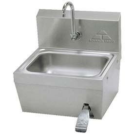Standard Hands Free Knee Operated Hand Sink, 10x14x5 Bowl