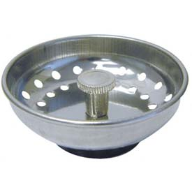 Replacement Drain Basket With Metal Post, 4 x 4 x 4