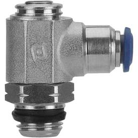 "Alpha Fittings Flow Control 88953-06-06, Screw Adj, Flow Out, 3/8"" Tube x 3/8"" Swift-Fit Universal - Pkg Qty 2"