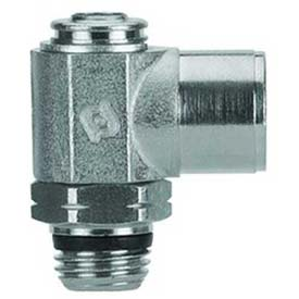 Alpha Fittings Female Needle Valve 88972-32-32, Screw Adj, 10-32 UNF Female x 10-32 UNF Male Thread - Pkg Qty 2