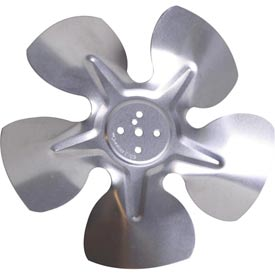 "8"" Unit Bearing Hubless Fan Blade - 30° Pitch, Clockwise Rotation - Min Qty 13"