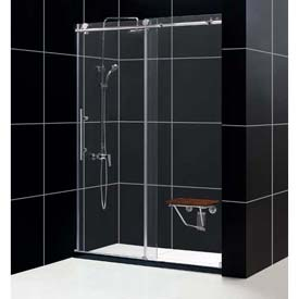 "DreamLine™ Enigma x Shower Door SHDR-61607610-07, 56""-60"" x 76"""