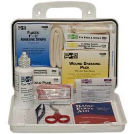 Pac-Kit® #25 ANSI Plus Weatherproof Plastic First Aid Kit