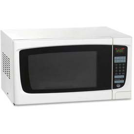 "Avanti Electronic Microwave Oven, 1.2 Cu. Ft, 21-1/3""W x 17-3/4""D x 11-3/4""H, 1000 Watt, White by"