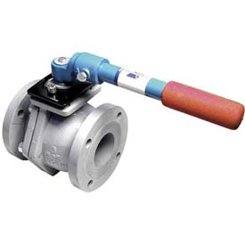 "American Valve 4000D-10 Ball Valve, Flanged, 10"", Ductile Iron"