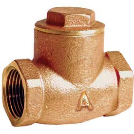 "American Valve G31-2 Check Valve, Lead-Free, Threaded, 2"", Brass - Pkg Qty 4"