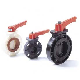 "American Valve P21-12 Butterfly Valve, EPDM, Schedule 80, 12"", PVC"