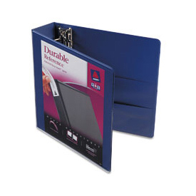 "Durable Vinyl View Binder, 2"" Capacity, Blue"