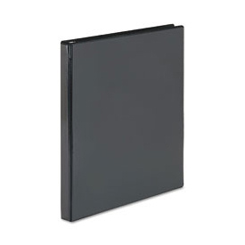 "Showcase Reference View Binder, 1/2"" Capacity, Black"
