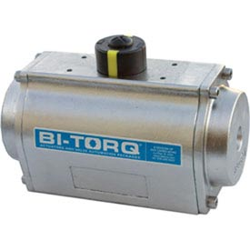 Stainless Steel Spring Return Pneumatic Actuator; 1301 In Lbs Spring End Torque