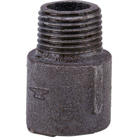Anvil 1/2 In. (1138) Black Malleable Extension Piece