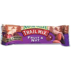 Nature Valley Chewy Trail Mix Bars, Fruit & Nut, 1.2 Oz, 16/Box