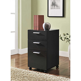 Buy Princeton 3-Drawer Mobile File for Home Office Espresso