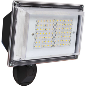 Amax Lighting LED-SL42BZ LED Security Light Wall Pack, 42W, 4000 CCT, 3500 Lumens, 82 CRI, Bronze