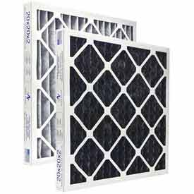 """Airex® 18"""" x 20"""" x 1"""" Carbon Combo Pleated Filter, MERV 8, High Quality  - Pkg Qty 12"""