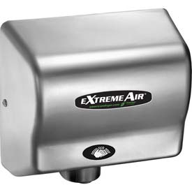 American Dryer ExtremeAir W/ ECO No Heat Technology - Steel Satin Chrome EXT7-C