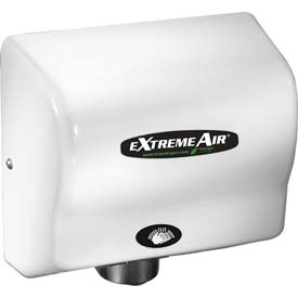 American Dryer ExtremeAir High Speed Compact Hand Dryer - Steel White Epoxy GXT9-M
