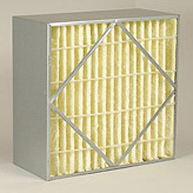 "Purolator® 5360795757 AERO-CELL® Rigid Box Filter 12""W x 24""H x 6""D - Pkg Qty 4"