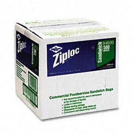 ZIPLOC® 1 Gallon Recloseable Freezer Bags 2.7 Mil 250 Pack