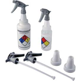 Bel-Art Polypropylene Trigger Sprayers with 53mm Adapter 116200050, 2/PK Package Count 10 by