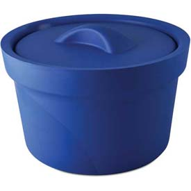 Bel-Art Magic Touch 2 Ice Bucket with Lid 168072001, 2.5 Liter, Blue, 1/PK by