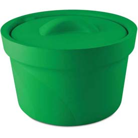 Bel-Art Magic Touch 2 Ice Bucket with Lid 168072004, 2.5 Liter, Green, 1/PK by