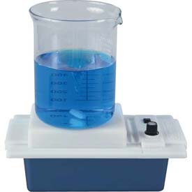 "Bel-Art Battery Powered Magnetic Stirrer 370170000, Polypropylene, 9-1/4""L x 5-1/8""W x 3-1/2""H,... by"