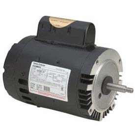 Electric motors definite purpose pool pump motors 1 for Double ended shaft electric motor