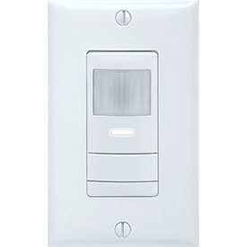 Lithonia WSD WH Wall Switch Decorator Sensor - Passive Infrared (Pir): White