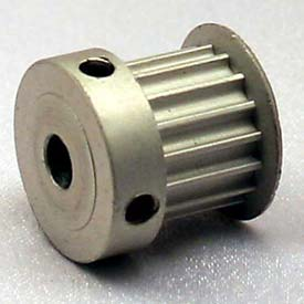 15 Tooth Timing Pulley, (Htd) 3mm Pitch, Clear Anodized Aluminum, 15-3m09-6ca2 - Min Qty 8