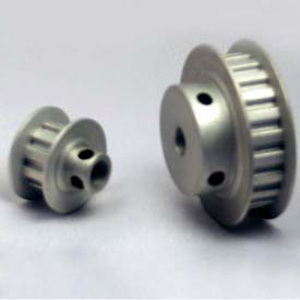 """16 Tooth Timing Pulley, (Xl) 1/5"""" Pitch, Clear Anodized Aluminum, 16xl025-6fa3 - Min Qty 8"""