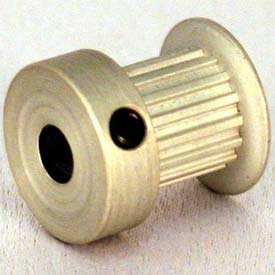 20 Tooth Timing Pulley, (Lt) 0.0816 Pitch, Clear Anodized Aluminum, 20lt312-6ca3 - Min Qty 5