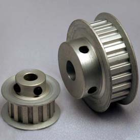 """21 Tooth Timing Pulley, (Xl) 1/5"""" Pitch, Clear Anodized Aluminum, 21xl037-6fa5 - Min Qty 8"""