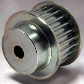 22 Tooth Timing Pulley, (Htd) 8mm Pitch, Clear Zinc Plated Steel, 22-8m30-6fs6 - Min Qty 2