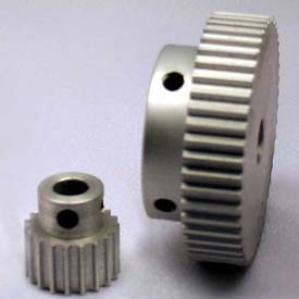 24 Tooth Timing Pulley, (Htd) 3mm Pitch, Clear Anodized Aluminum, 24-3m06m6a6 - Min Qty 8