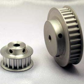 24 Tooth Timing Pulley, (Htd) 5mm Pitch, Clear Anodized Aluminum, 24-5m09-6fa3 - Min Qty 5