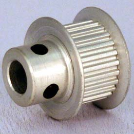 28 Tooth Timing Pulley, (Lt) 0.0816 Pitch, Clear Anodized Aluminum, 28lt312-6fa3 - Min Qty 8