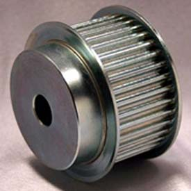 36 Tooth Timing Pulley, (Htd) 5mm Pitch, Clear Zinc Plated Steel, 36-5m25-6fs6 - Min Qty 2