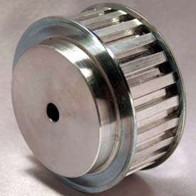 40 Tooth Timing Pulley, T 5mm Pitch, Aluminum, 36t5/40-2 - Min Qty 3