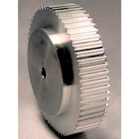 60 Tooth Timing Pulley, T 5mm Pitch, Aluminum, 36t5/60-0 - Min Qty 2