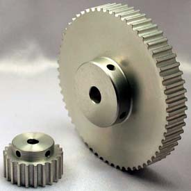 44 Tooth Timing Pulley, (Htd) 5mm Pitch, Clear Anodized Aluminum, 44-5m09-6a4 - Min Qty 3