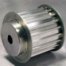 20 Tooth Timing Pulley, At 10mm Pitch, Aluminum, 47AT10/20-2