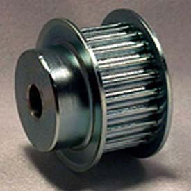 21 Tooth Timing Pulley, (Pwrgrip Gt) 5mm Pitch, Clear Zinc Plated Steel, P21-5mgt-15-Mpb - Min Qty 3