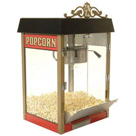 Click here to buy BenchMark USA 11060 Street Vendor Popcorn Machine 6 oz Red 120V 1180W.