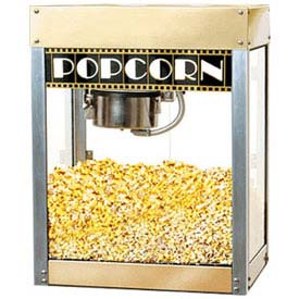 BenchMark USA 11068 Premier Popcorn Machine 6 oz Gold/Silver 120V 1130W by
