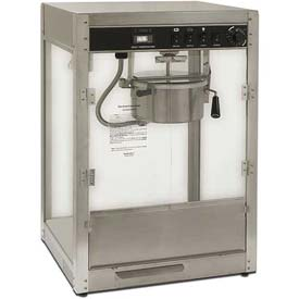 Benchmark USA 11087 Silver Screen Popcorn Machine 8 oz Silver 120V 1510W by