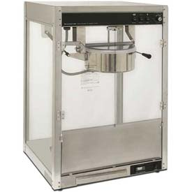 Benchmark USA 11147 Silver Screen Popcorn Machine 14 oz Silver 120V 1760W by