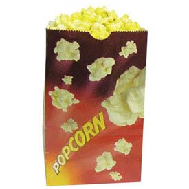 BenchMark USA 41230 Popcorn Bags 130 oz 100/Bags by