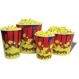 BenchMark USA 41446 Popcorn Buckets 46 oz 100/Tubs by