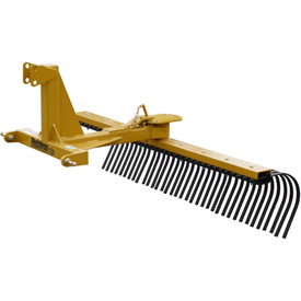 Behlen Country 5' Medium Duty Landscape Rake Tractor Attachment 80110600 Category 1 by
